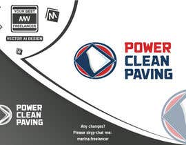 #3 para Design a Logo for Power Clean Paving por MarinaWeb
