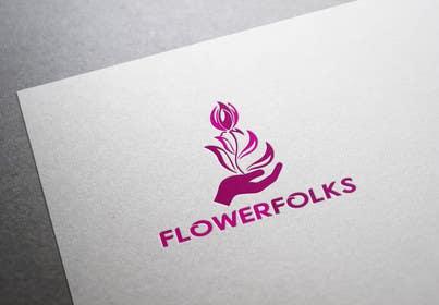 Nro 142 kilpailuun Design a Logo for FlowerFolks käyttäjältä shitazumi