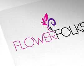 Nro 133 kilpailuun Design a Logo for FlowerFolks käyttäjältä webcreateur