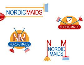 #12 for Design a Logo for Nordic Maids af rogerweikers
