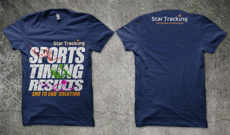 Bài tham dự cuộc thi #                                        32                                      cho                                         Design a T-Shirt for Star-Tracking