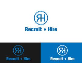 "jamshaidrazaCG tarafından Design a Logo for ""Recruit and Hire"" için no 145"