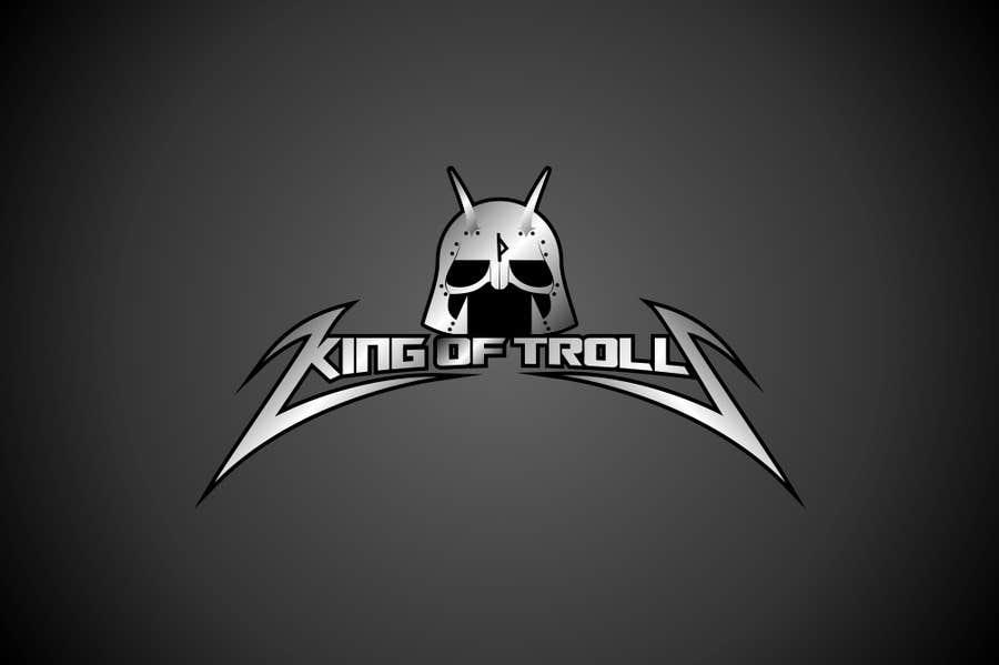 Konkurrenceindlæg #                                        44                                      for                                         Design en logo for the band:  King of Trolls