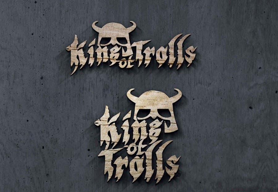 Konkurrenceindlæg #                                        39                                      for                                         Design en logo for the band:  King of Trolls