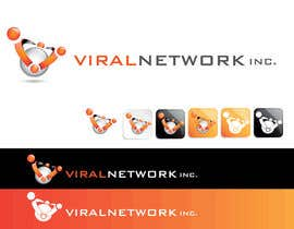 #174 untuk Logo Design for Viral Network Inc - Banner design, Graphic design, Social Button Design oleh sikoru