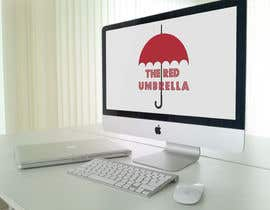 #23 for Design a Logo for The Red Umbrella - A Vegetarian Food Truck af vasked71
