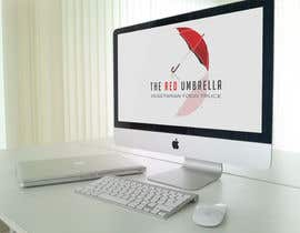 #33 for Design a Logo for The Red Umbrella - A Vegetarian Food Truck af vasked71