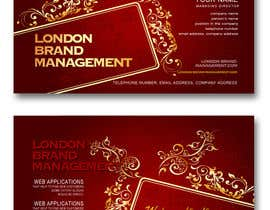 #43 para Business Card Design for London Brand Management de sreekanthize