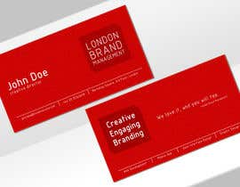 #33 untuk Business Card Design for London Brand Management oleh childgone