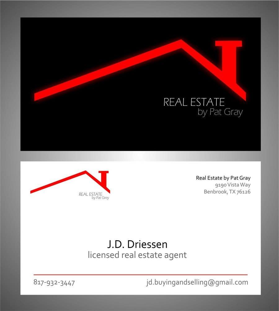 Bài tham dự cuộc thi #                                        8                                      cho                                         Design a Creative Business Card for Realtor
