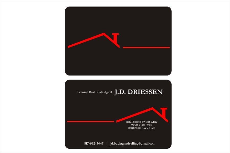 Bài tham dự cuộc thi #                                        46                                      cho                                         Design a Creative Business Card for Realtor