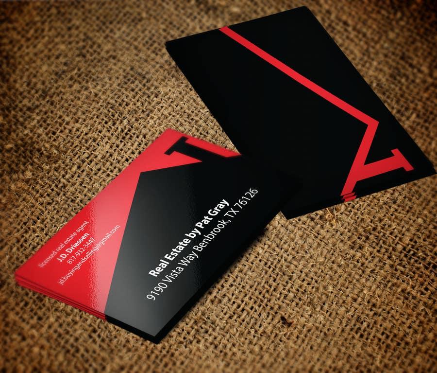 Bài tham dự cuộc thi #                                        16                                      cho                                         Design a Creative Business Card for Realtor
