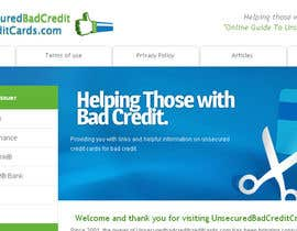 #32 for Design a Logo for www.unsecuredbadcreditcreditcards.com by Sharkhead
