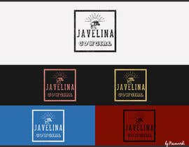 #112 for Design a Logo for Javelina Cowgirl (Online Shop) by Naumovski