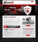 Graphic Design Contest Entry #46 for Website Design for Ebackup.me Online Backup Solution