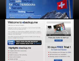#67 for Website Design for Ebackup.me Online Backup Solution af crecepts