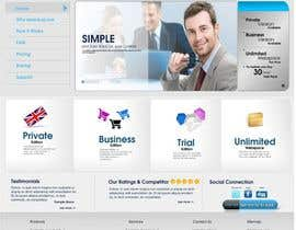 #75 para Website Design for Ebackup.me Online Backup Solution de vectorstudios