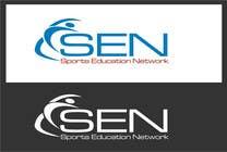 "Bài tham dự #42 về Graphic Design cho cuộc thi Design a Logo for company name ""Sports Education Network"", in short SEN."
