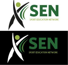 "Bài tham dự cuộc thi #                                        39                                      cho                                         Design a Logo for company name ""Sports Education Network"", in short SEN."