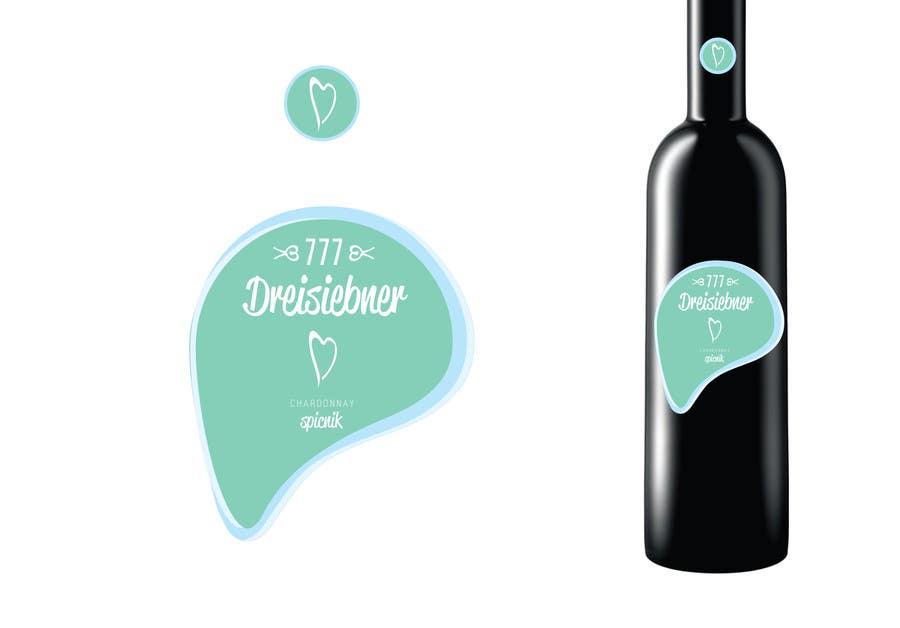 Penyertaan Peraduan #89 untuk Graphic Design for Wine label