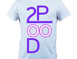 #41 cho Design a Logo for a 2POOD shirt bởi bakkalibolatova