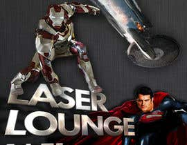 #36 para Design a Flyer for DVD Rental named LASER LOUNGE por matt3214