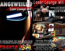 #29 para Design a Flyer for DVD Rental named LASER LOUNGE por uniqmanage
