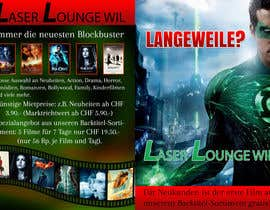 #26 para Design a Flyer for DVD Rental named LASER LOUNGE por mandaldibyendu