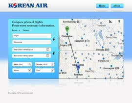 #14 para Design a Website Mockup for a Flight Price Analytics Page por helixnebula2010