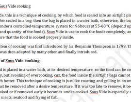nrseu45 tarafından Write some Articles for Sous Vide Blog için no 2