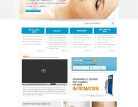 #36 untuk Build a Website for a new revolutionary cosmetic treatment oleh logoforwin