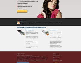 danangm tarafından Build a Website for a new revolutionary cosmetic treatment için no 8