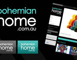 #120 for LOGO design for www.bohemianhome.com.au by Krishley