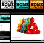 Graphic Design Конкурсная работа №91 для LOGO design for www.bohemianhome.com.au