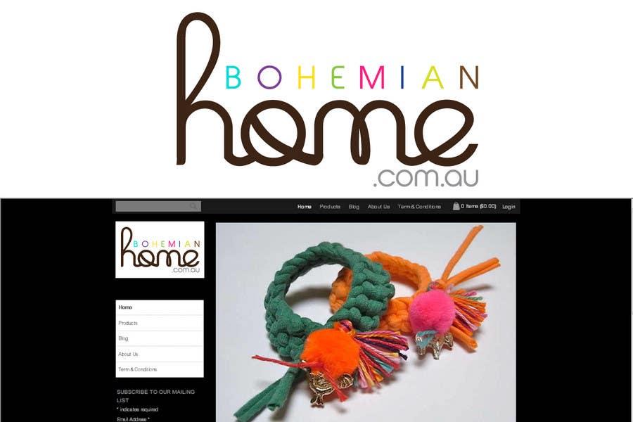 Contest Entry #                                        179                                      for                                         LOGO design for www.bohemianhome.com.au