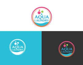 #22 for Design a Logo for AQUA LAUNDRY & DRY CLEANING af babugmunna