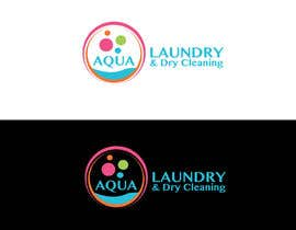 #32 for Design a Logo for AQUA LAUNDRY & DRY CLEANING af babugmunna