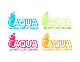 #18 for Design a Logo for AQUA LAUNDRY & DRY CLEANING af OnePerfection