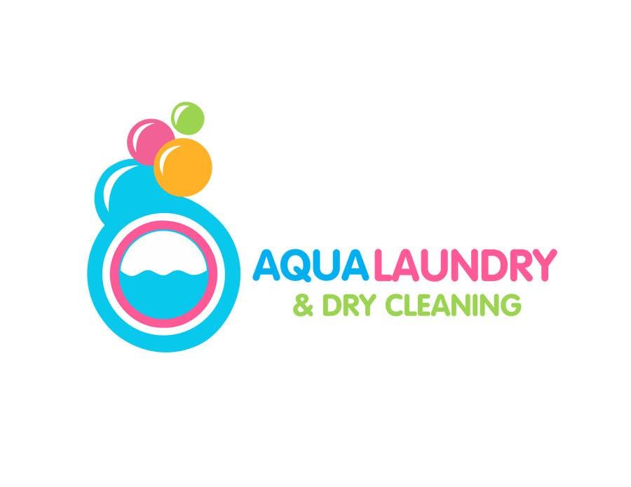 Konkurrenceindlæg #                                        62                                      for                                         Design a Logo for AQUA LAUNDRY & DRY CLEANING