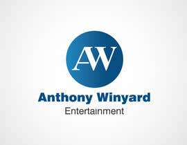 #230 pentru Graphic Design- Company logo for Anthony Winyard Entertainment de către Bluem00n