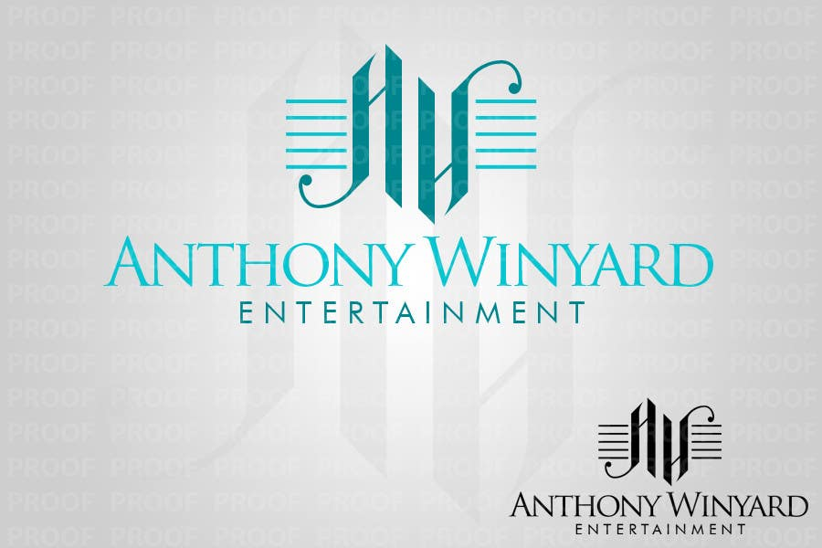 Konkurrenceindlæg #                                        77                                      for                                         Graphic Design- Company logo for Anthony Winyard Entertainment