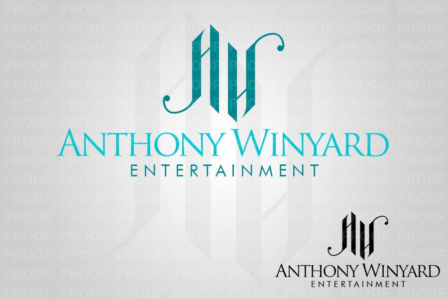 Konkurrenceindlæg #                                        76                                      for                                         Graphic Design- Company logo for Anthony Winyard Entertainment