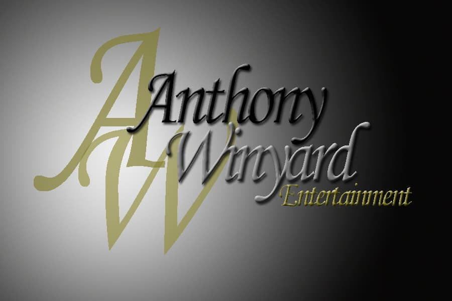 Konkurrenceindlæg #                                        80                                      for                                         Graphic Design- Company logo for Anthony Winyard Entertainment