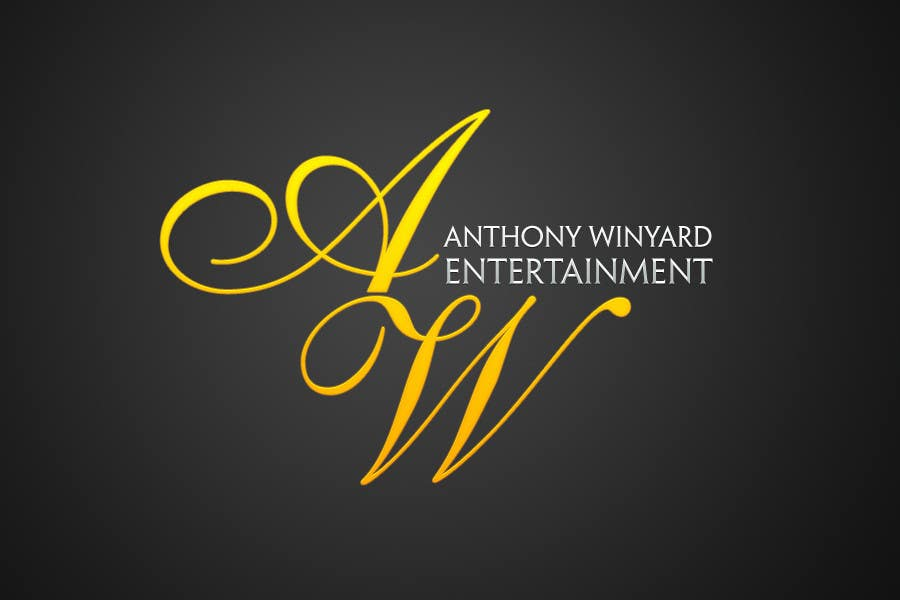 Konkurrenceindlæg #                                        145                                      for                                         Graphic Design- Company logo for Anthony Winyard Entertainment