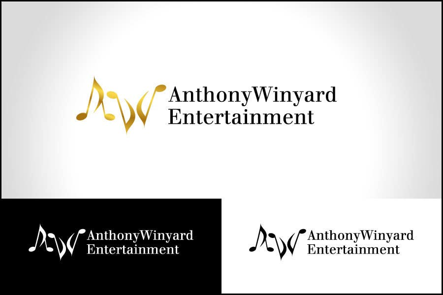 Konkurrenceindlæg #                                        24                                      for                                         Graphic Design- Company logo for Anthony Winyard Entertainment