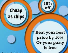 #18 for Design a Banner for cheapcatering.com.au by paperhead