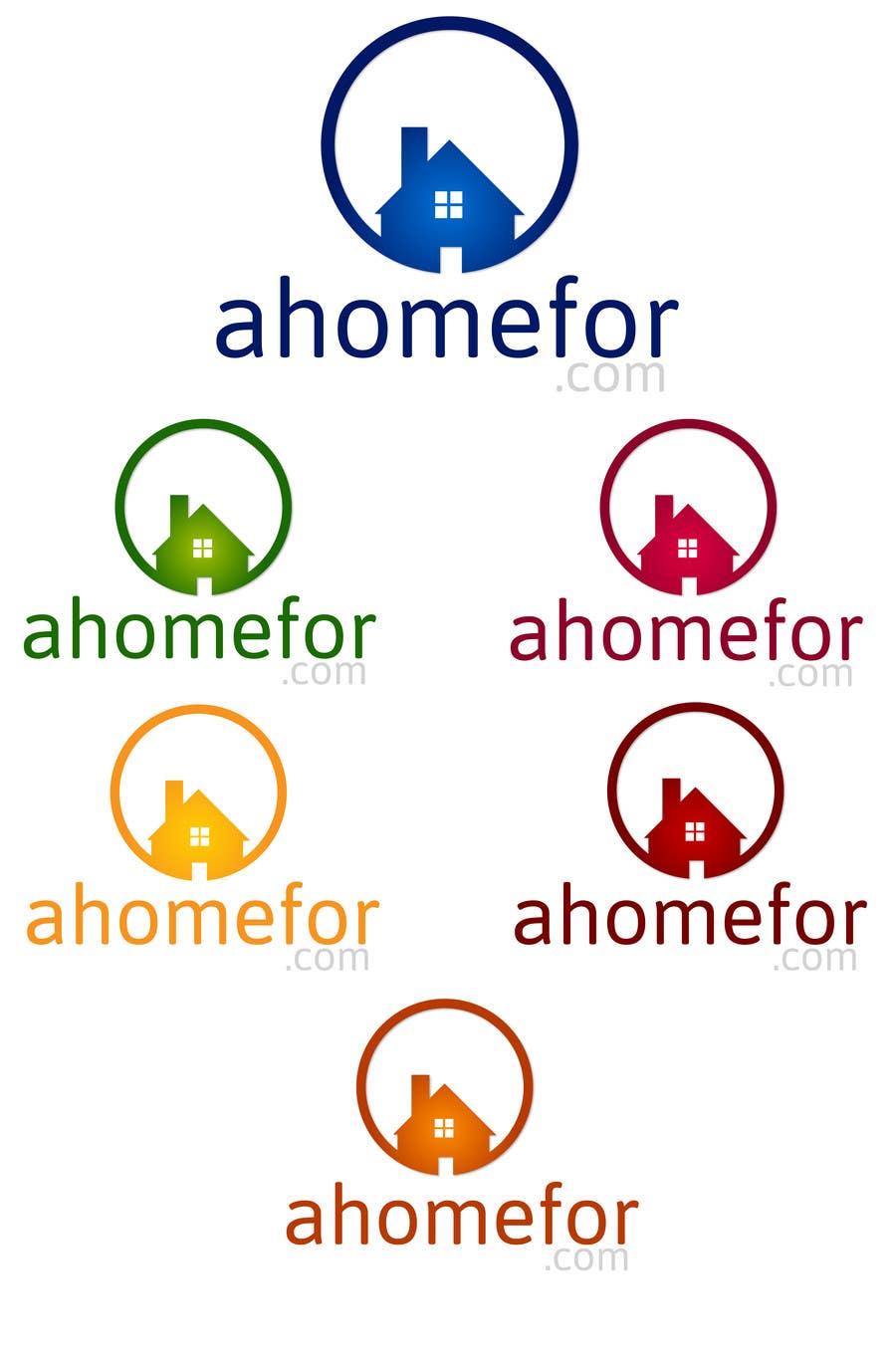 Penyertaan Peraduan #129 untuk Design a Logo for ahomefor.com