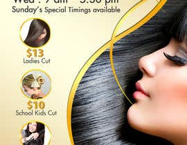 #16 para Design a Flyer for Hair Salon por TDuongVn