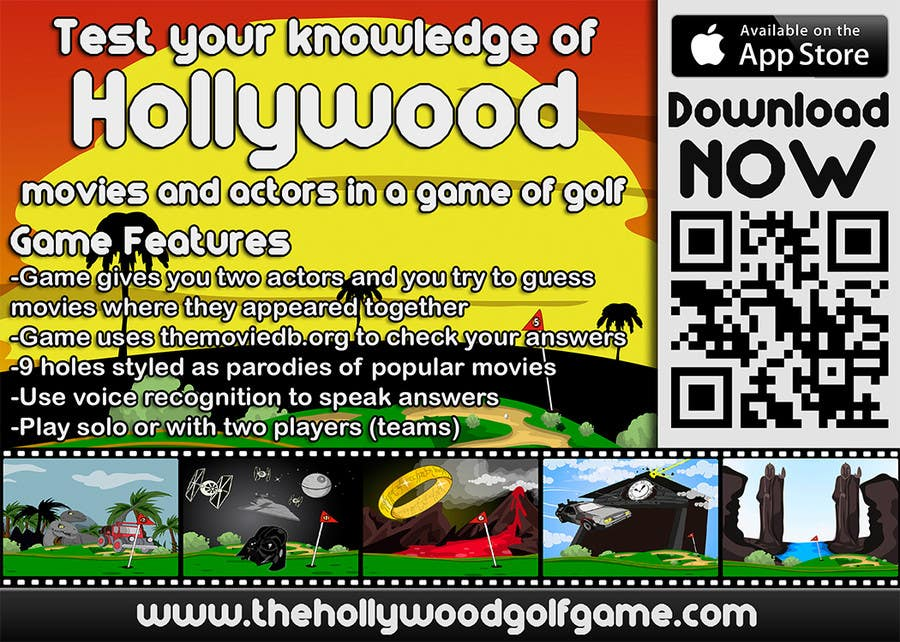 Contest Entry #22 for Design a Flyer for an iPhone Game