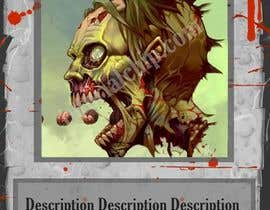 vishishkumar tarafından Design Trading Card for Zombies Card Game için no 27